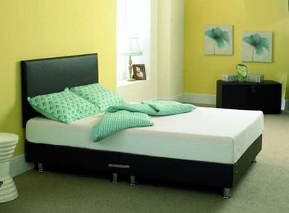 Picture of Faux Leather Bed Inc  Headboard